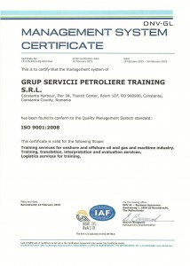 GSP-Training_DNV_ISO_Certificate
